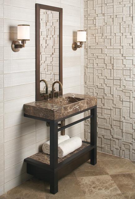 Vir Stil by Laura Kirar for KALLISTA contemporary-bathroom