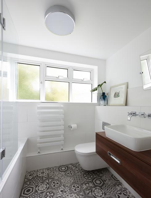 Virgina Water Apartment Surrey Modern Bathroom London By Bhavin Taylor Design