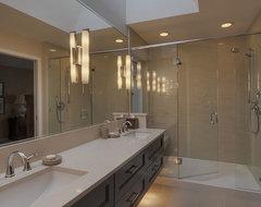 Vollinger residence contemporary-bathroom