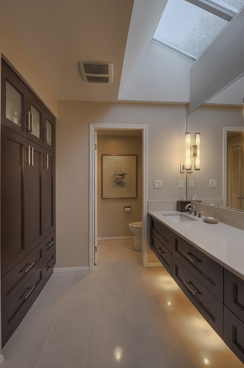 Vollinger residence contemporary bathroom