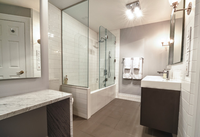 Vsl master bathroom design modern bathroom montreal for Modern master bathroom