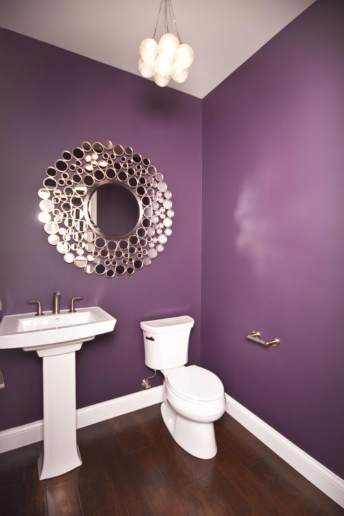 ultra violet bathroom