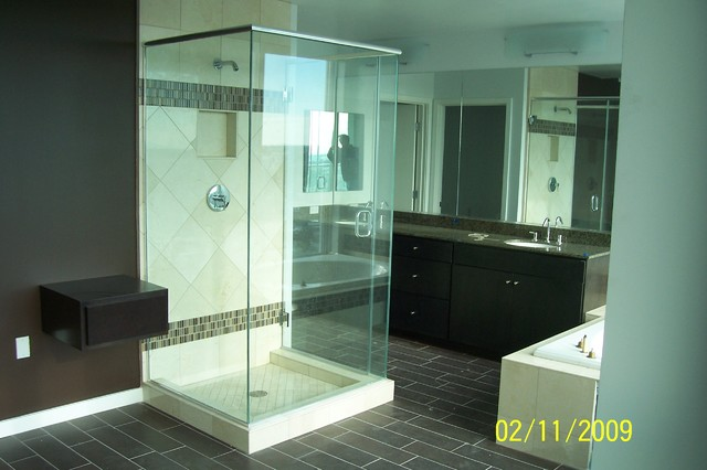 Beau W6 Luxury Apartments Tempe AZ Contemporary Bathroom