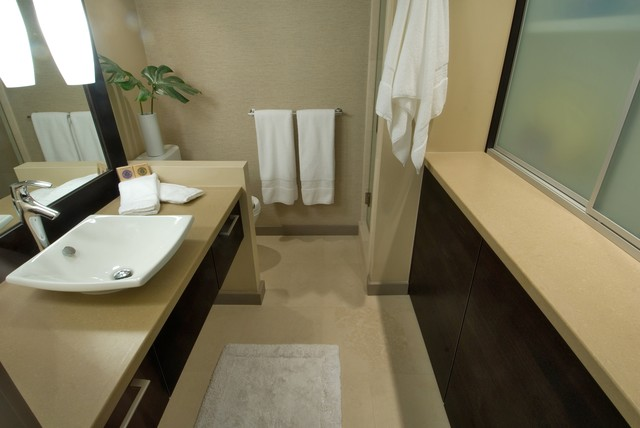 Waikiki Chic contemporary-bathroom