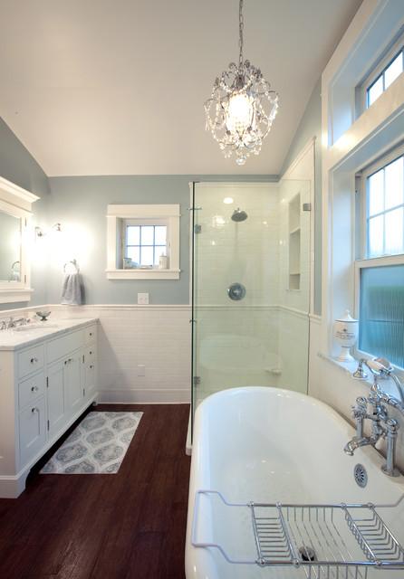 Wainscoting Traditional Bathroom
