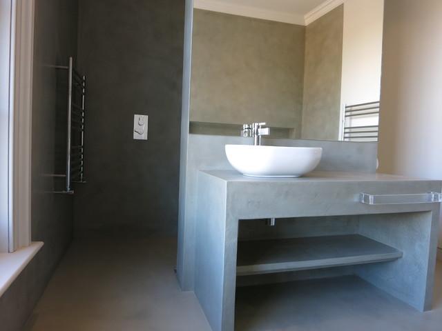 Beton cirer beton cire salle de bain beau toilet beton cire