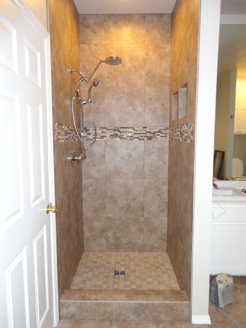Walk In Shower Contemporary Bathroom Other By