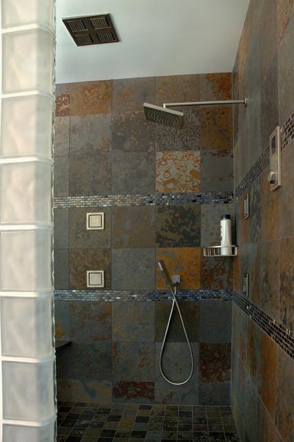 Walk In Shower contemporary-bathroom