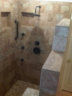 Walk In Shower Traditional Bathroom Phoenix By