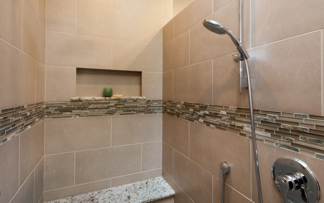 Walk in shower without doors gig harbor wa for Bath remodel gig harbor