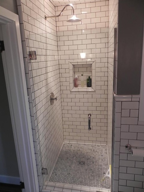 Walk in showers contemporary bathroom other metro by srw