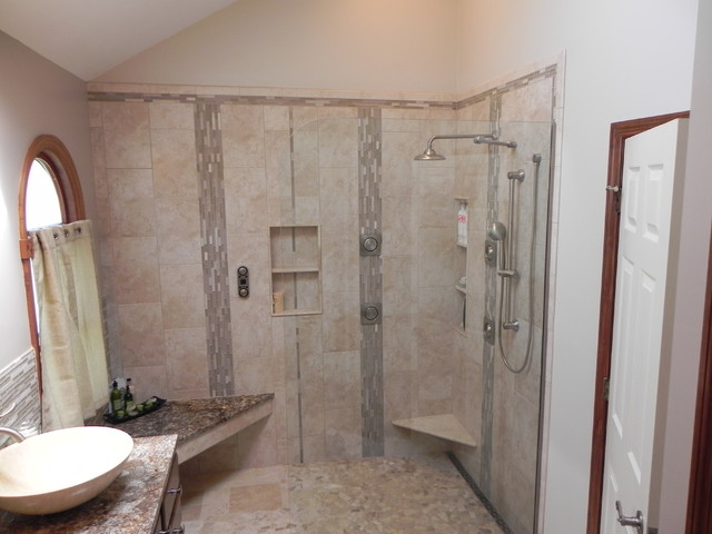 Walk In Showers Contemporary Bathroom Other Metro