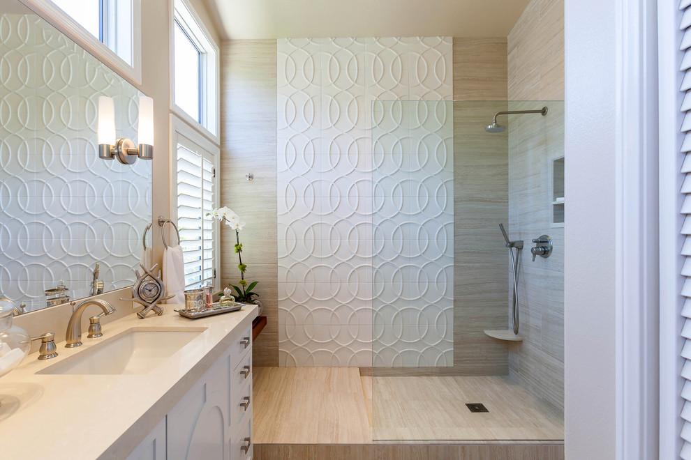 Walker Zanger Studio Moderne | Bathroom Remodel