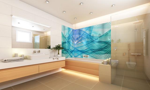 Wall Art 24 X40 48 X96 Glass Frp Design Contemporary