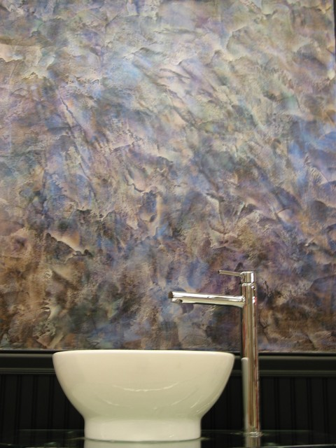 WALL FINISHES - Contemporary - Bathroom - new york - by ...