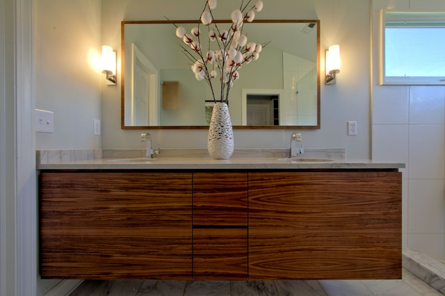 ginger bathroom mirrors wall hung vanity in walnut matching walnut mirror dual 12950