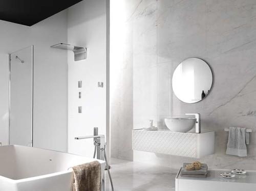 Wall Tile contemporary bathroom