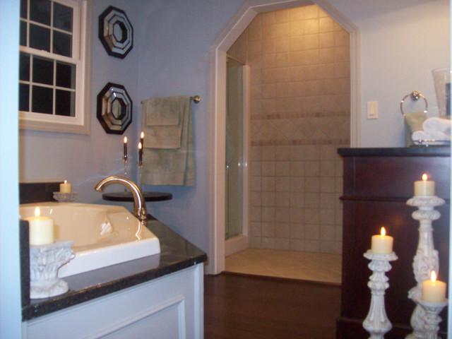 Wallingford Ct Traditional Bathroom New York By Sweet T Design Studio