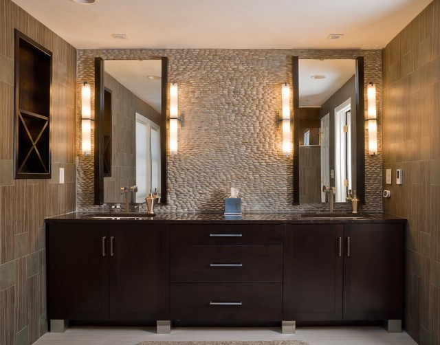 walnut contemporary bath modern bathroom boston by
