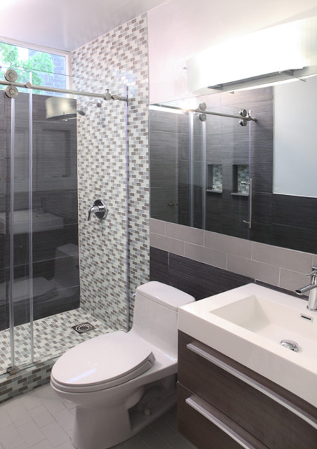 Walnut creek bathroom remodel modern bathroom san for 8x4 bathroom design