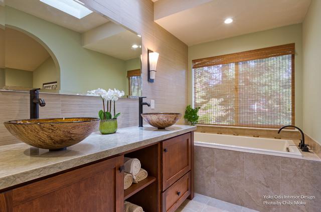 Walnut creek ca yoko oda interior design zen bathroom for Bath remodel walnut creek ca