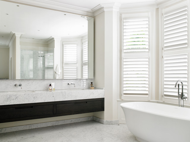 Wandsworth Contemporary Bathroom Transitional Bathroom London By Brayer Design