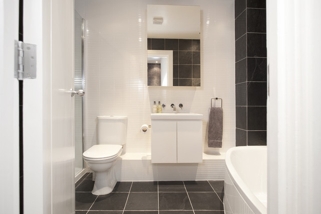 Wapping E1w Stylish Wharf Flat Contemporary Bathroom