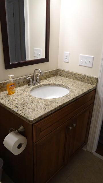 Ward Hall Bathroom Remodel Ubranna Va 23175 3 10 17 Contemporary Bathroom Richmond By Bancroft Kitchen Bath
