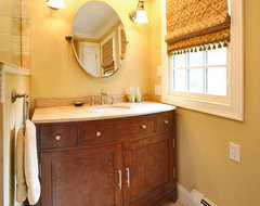Warm Elegance eclectic bathroom