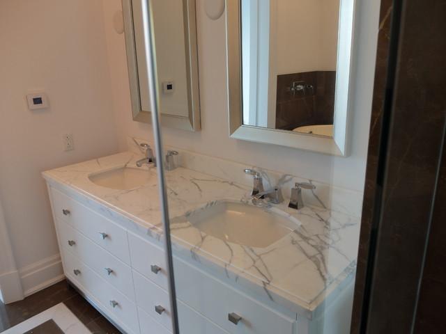 Warmup projects - Bathroom modern-bathroom