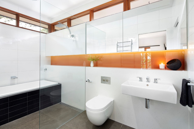 West end modern bathroom melbourne by eco edge for Bathroom decor melbourne