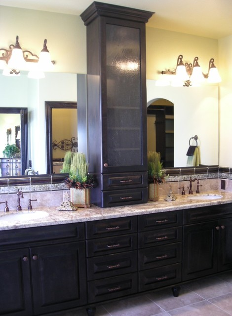 Vanity Towers Take Bathroom Storage To