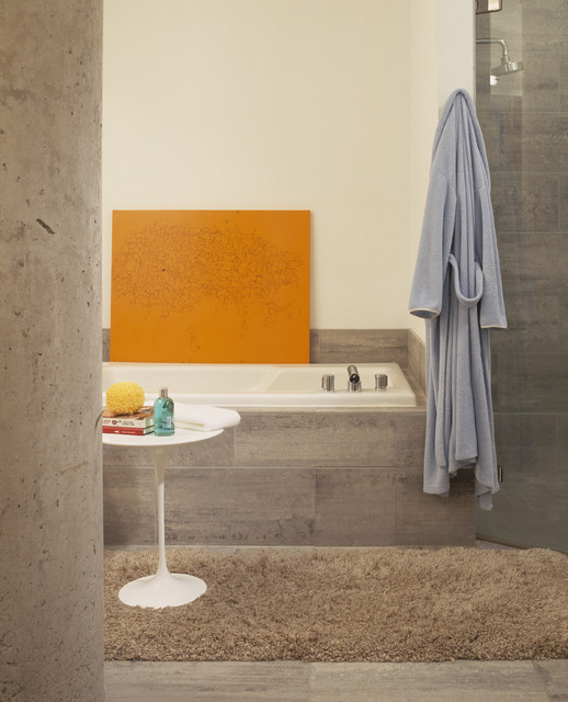 Washburn Loft Bath contemporary-bathroom