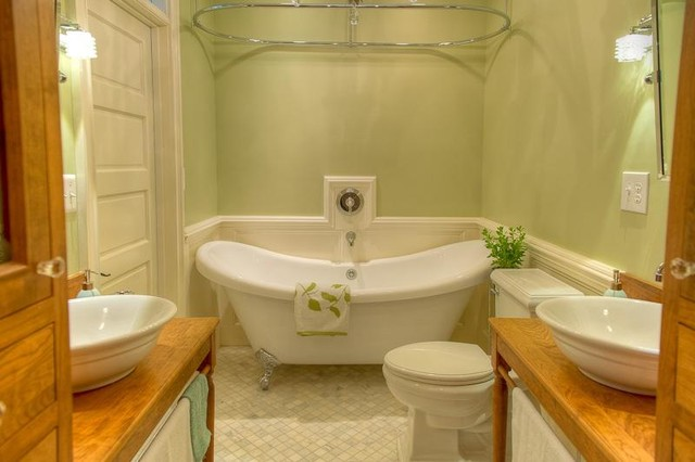 Washington dc bathroom remodel traditional bathroom for Bathroom remodelers in my area
