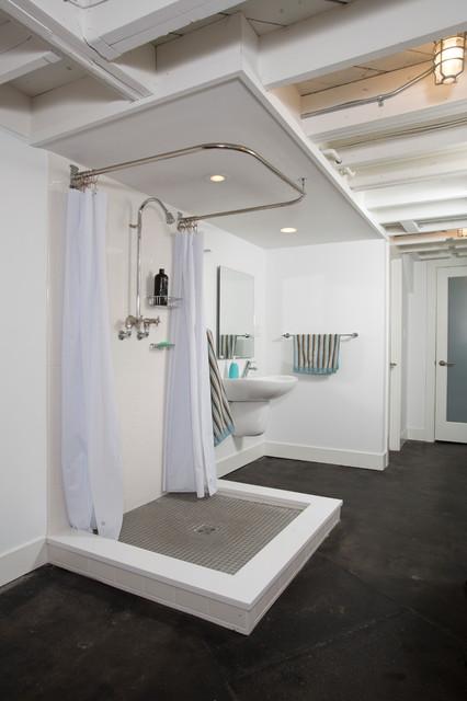 Washington Dc Full House Remodel Industrial Bathroom