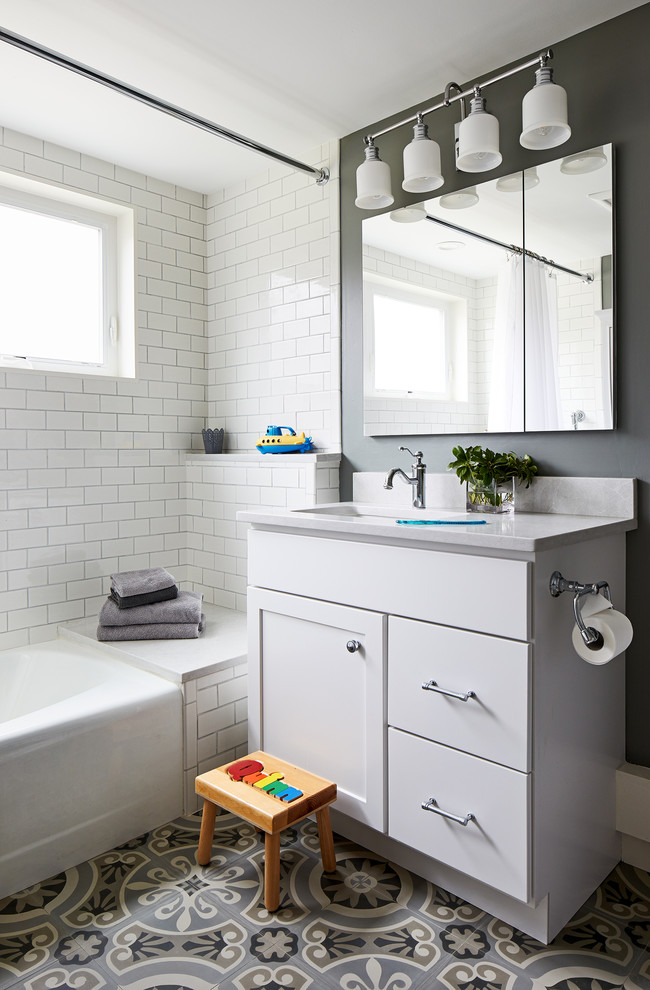 Washington, DC Kitchen and Bath Remodel - Transitional ...