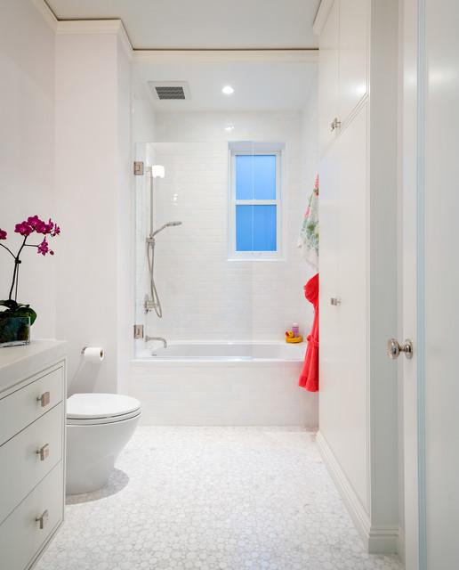 Parisian Modern Flat - Pacific Heights contemporary-bathroom
