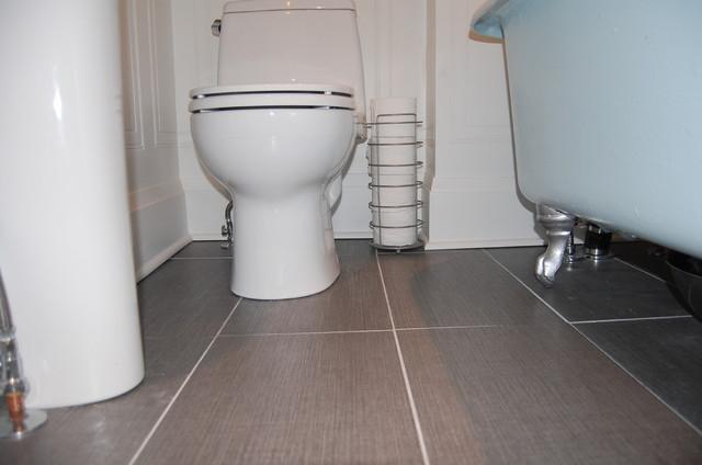 Washroom Update eclectic-bathroom