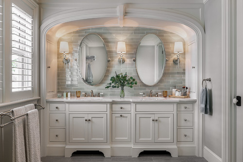 Traditional Bathroom Vanity Lighting in Rochester NY