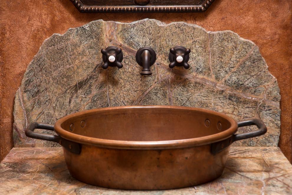 Water Tower Inspired Home Bath Vanity Rustic Bathroom Other By Western Design International Houzz