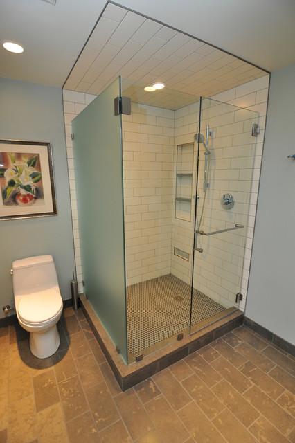 Waterfront Dormer contemporary bathroom. Waterfront Dormer   Contemporary   Bathroom   Seattle   by Ventana