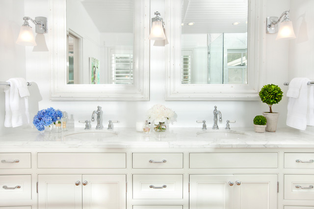 Waterfront Estate traditional-bathroom