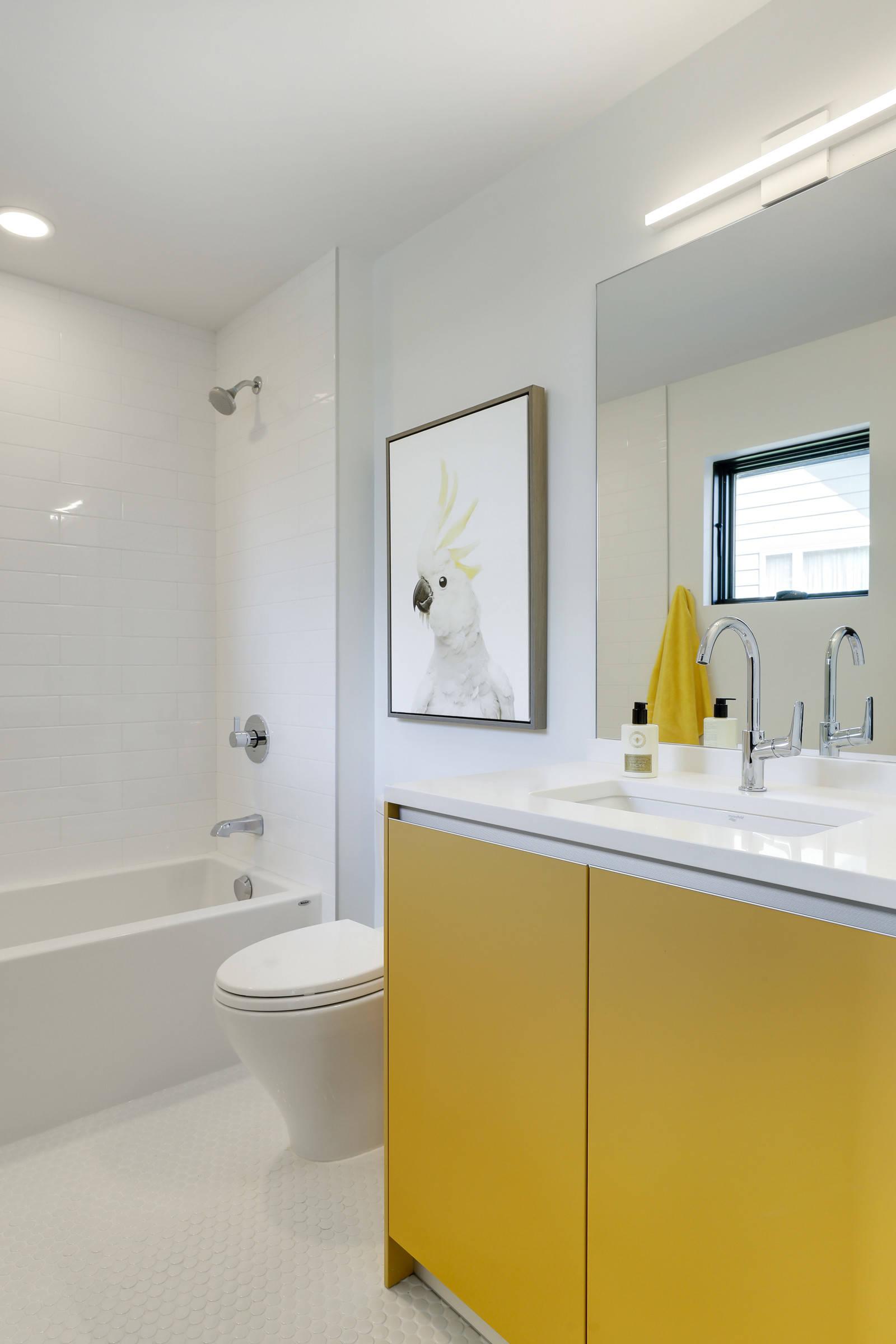 Mustard Yellow Bathroom Ideas Houzz
