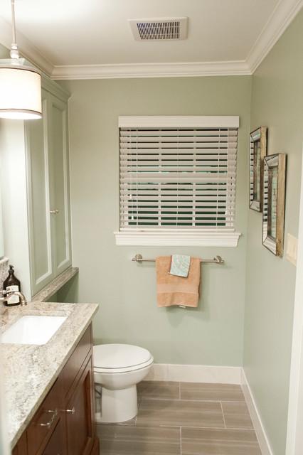 Waynesboro Master Bath Renovation Transitional