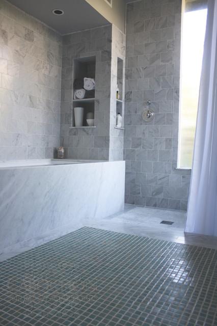 Webb Master transitional-bathroom