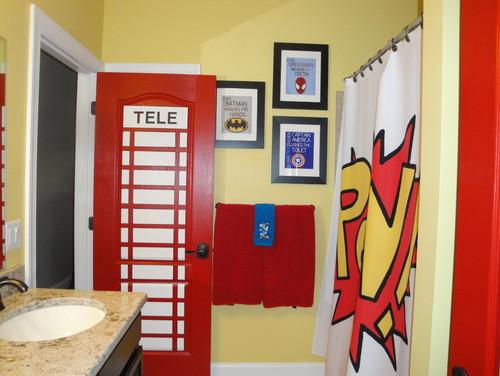 Telephone Booth Bathroom Door