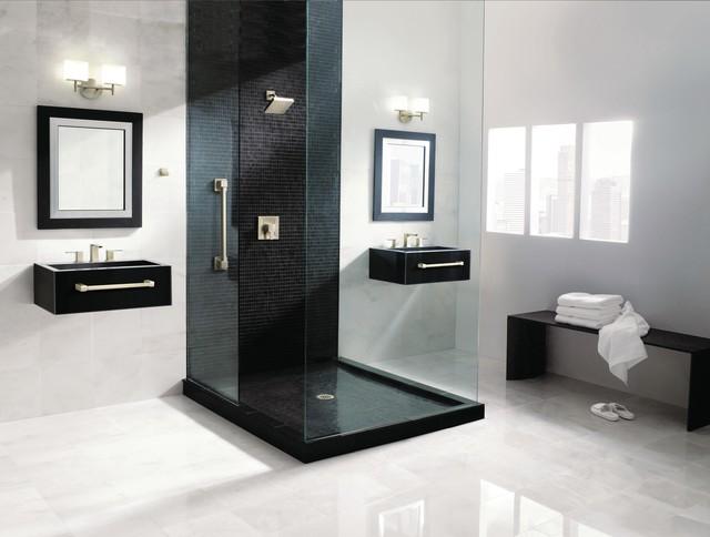 Weinstein bath spaces modern bathroom philadelphia for Weinstein kitchen and bath
