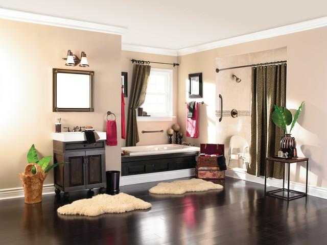 Weinstein bath spaces asian bathroom philadelphia for Weinstein kitchen and bath