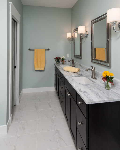 Welcome home to falls church traditional bathroom dc for Church bathroom designs