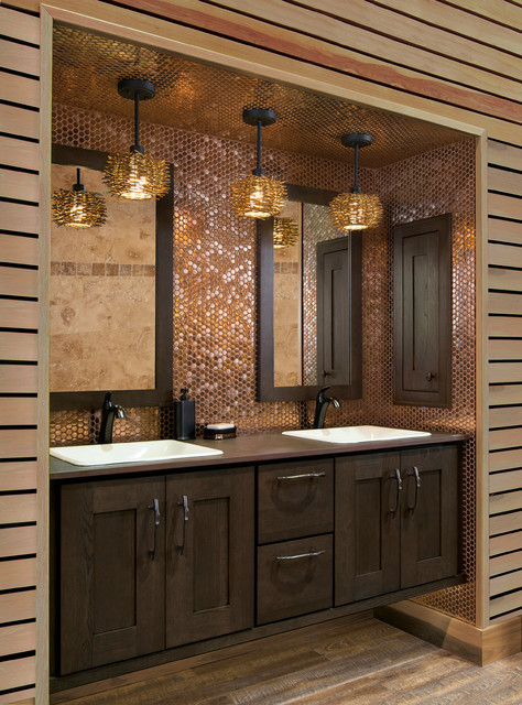 Wellborn Cabinet - Contemporary - Bathroom - by Wellborn Cabinet, Inc.